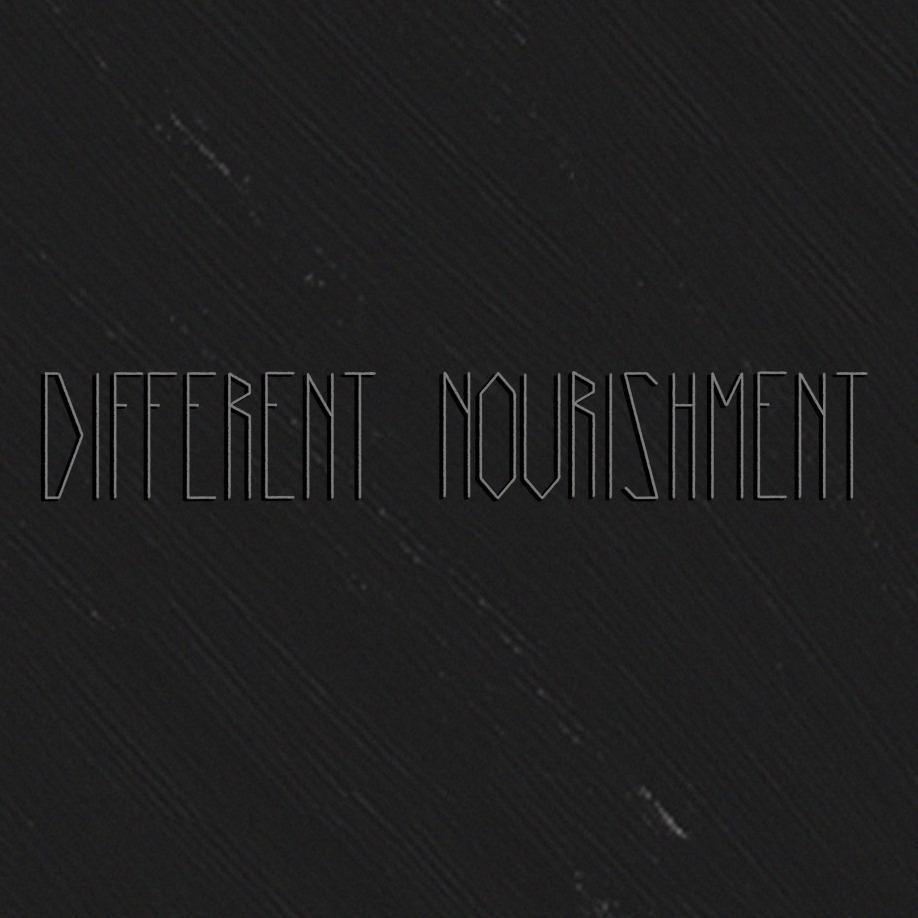 black paint Different Nourishment Exordium cover